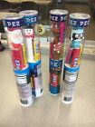 CHRISTMAS  Lot Of 4. Pez Dispenser CHRISTMAS TUBE W/7 Rolls. Santa