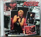 Accept All Areas-Worldwide by Accept  2 CD 1997