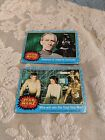 2 Star Wars 1977 Series 1 Topps Blue Cards #64 & #52