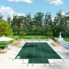 VEVOR Pool Safety Cover 18X36FT Swimming Pond Mesh In Ground