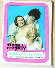 Three's Company Complete 44 Sticker Set by Topps