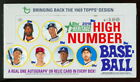 2018 TOPPS HERITAGE HIGH NUMBER BASEBALL SEALED HOBBY BOX rc 1969 #