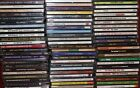 Lot of Assorted Compact Discs (CDs) w/Cases - You Pick (Rock, Country, more)