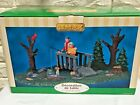 LEMAX The Fishing Lesson Village Collection #93745 New in Box