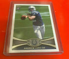 Lucky Charms on a 2012 Topps Football Andrew Luck Variation 13