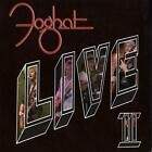 FOGHAT-LIVE II (UK IMPORT) CD NEW