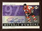 2005-06 UD Notable Numbers AUTOGRAPH Jeremy Roenick #ed to 97 LA Kings RARE HOF