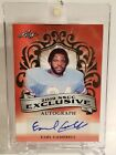 2019 1 Of 1 Auto Earl Campbell Leaf Nscc Exclusive Red #d 1 1 Houston Oilers