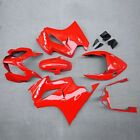 Fit for Honda VFR800 2002-2012 ABS Injection Fairing Bodywork Kit Panel Set Red