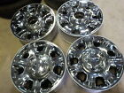 4 2016 Ford F250 Factory 20 Chrome Wheels 05 16 F350 OE 520C