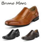 BRUNO MARC Mens Classic Slip On Loafer Shoes Square Toe Business Dress Shoes