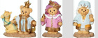Cherished Teddies Christmas Nativity 3 Kings Wiseman Set 3 Figures New 2020