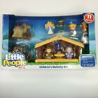 Fisher Price Little People Childrens Nativity Set with 11 Figures New