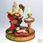 HALLMARK 2011 ORNAMENT ~ CHECKING IT TWICE -ONCE UPON A CHRISTMAS #1 IN SERIES