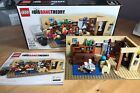 The Big Bang Theory Lego Set #21302 Brickset with Box + Instructions No Minifigs