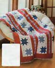 Star Spangled Beauty Quilt Pattern Pieced DF