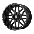 5x1143 17 Inch 4 Wheel Rims KMC XD820 17x85 +0mm Gloss Black