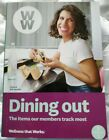Weight Watchers MY WW 2018 Shopping + Dining Out Guide 2in1 Food Points Book