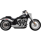 Vance  Hines 17235 HD Exhaust Shortshots Staggered Chrome 2018 Soft Tail