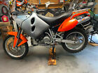KTM 640 Adventure Rich's Leather Seat (seat only, no pan included)