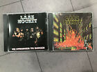 LAAZ ROCKIT CITY'S GONNA BURN CD No Stranger To Danger THRASH SPEED METAL
