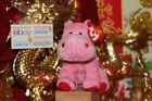 TY BEANIE BABY BIG KISS THE PINK/RED HIPPO-5
