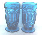 Lot of 2 Moon  Star Colonial Blue Tumblers Weishar Made in the USA LAST ONES