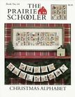 The Prairie Schooler Christmas Alphabet Cross Stitch Chart - Book #64