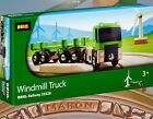 BRIO WINDMILL TRUCK ~ 33526 THOMAS WOODEN COMPATIBLE ~ EXTREMELY RARE NEW IN BOX