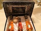 RARE VINTAGE BLUE FLAME Perfume Cologne Set By ELLYN DELIETH Beautiful Box
