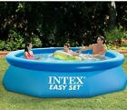 Intex 10 x 30 Easy Set Swimming Pool Above Ground Kiddie Inflatable Kid Family