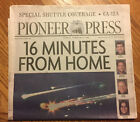 Space Shuttle Columbia Explodes Newspaper February 2003 St Paul Pioneer Press