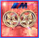 BMW Z3M Front Wheel Pair Valves NEW in Box BMW 17 M Roadstar Style 40 Wheel
