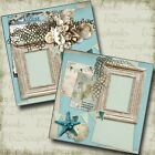 August 2 Premade Scrapbook Pages EZ Layout 4836