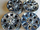4 2018 Ford F250 Factory 20 PVD Chrome Wheels 05 20 F350 Super Duty OE 69E