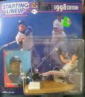 1998 Starting Lineup, Dave Justice, Figurine and Card