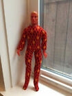 Vintage 1975 Mego Human Torch 8 Action Figure OriginalComplete Fantastic Four