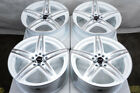 17 Wheels Audi TT Corolla Lancer Galant Civic Accord Prelude White Rims 5x1143