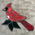 Cardinal Stained Glass art handcrafted