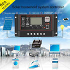60A Solar Panel Smart Controller Battery Charge Regulator 12V 24V Dual USB