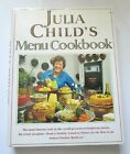 Julia Childs Menu Cookbook Signed 1991 Wings Hardcover DJ EXC