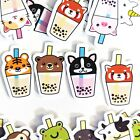 72 Bubble Tea Animals Kawaii Stickers Journal Diary Stickers Scrapbooking