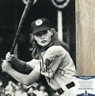 GEENA DAVIS SIGNED A LEAGUE OF THEIR OWN 11X14 PHOTO BECKETT BAS