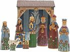 Enesco Folklore Nativity 9 Pc Set Folklore by Jim Shore