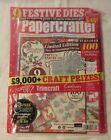 PaperCrafter Card Making KIT Magazine Stamps Christmas 3d Decoupage Die Set Rare