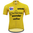 La Vie Claire Wonder Radar Cycling Jersey MTB Cycling Jersey Short Sleeve