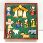 Kurt S Adler Porcelain Nativity Tablepiece Set 12 Pieces Christmas Holiday