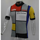 1986 France La Vie Claire Wonder Cycling Jersey MTB Cycling Jersey