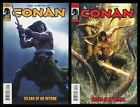 Conan Island of No Return Comic Set 1-2 Lot Bart Sears art REH Savage Barbarian
