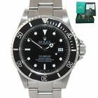 1997 PAPERS Rolex Sea-Dweller Steel Date 16600 40mm Date Black Diver Watch Box